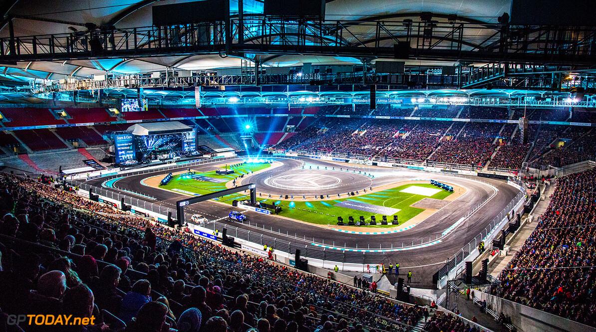 12122015TARSANDCARS Stars & Cars, Stuttgart, Mercedes Benz Arena, 12.12.2015,  Uebersicht Mercedes Benz Arena  Stars & Cars, Stuttgart, 12.12.2015 HOCH ZWEI / Ronco Stuttgart Deutschland  Motosport Partner01