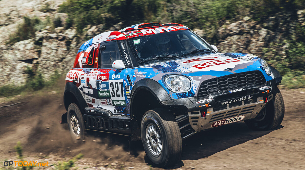 Jakub Przygonski (POL) from Orlen X-Raid Team performs during stage 2 of Rally Dakar 2016 from Villa Carlos Paz to Termas de Rio Hondo, Argentina on January 4, 2016. // Flavien Duhamel/Red Bull Content Pool // P-20160104-00181 // Usage for editorial use only // Please go to www.redbullcontentpool.com for further information. //  Jakub Przygonski  Flavien Duhamel