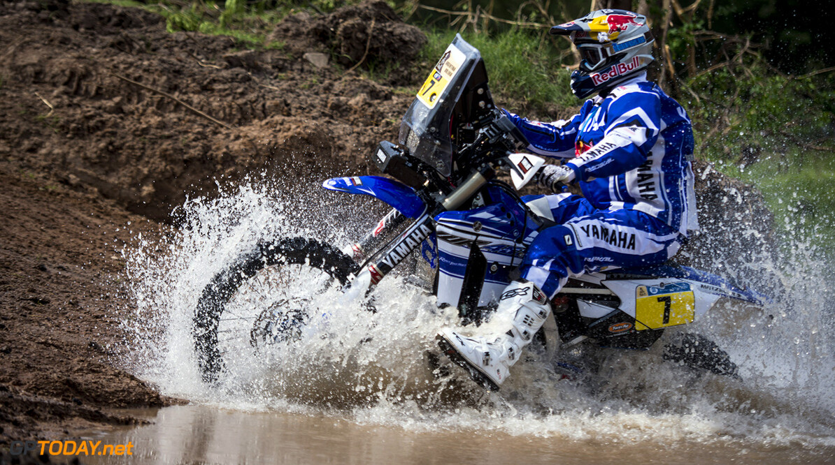 Helder Rodrigues (PRT) of Yamaha Racing Team races during prologue stage of Rally Dakar 2016 in Arrecifes, Argentina on January 2nd, 2016 // Marcelo Maragni/Red Bull Content Pool // P-20160103-00015 // Usage for editorial use only // Please go to www.redbullcontentpool.com for further information. //  Helder Rodrigues  Arrecifes Argentina  P-20160103-00015