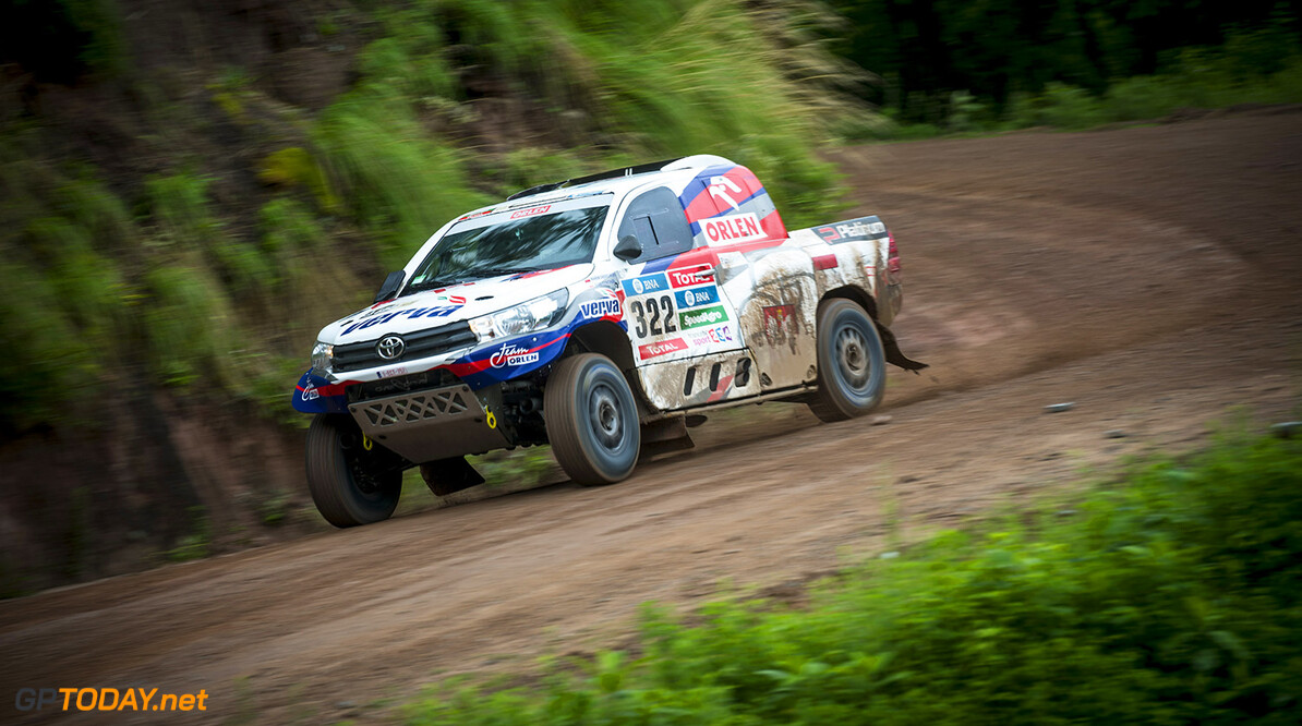 Marek Dabrowski (POL) of Team Orlen races during stage 03 of Rally Dakar 2016 from Termas de Rio Hondo to Jujuy, Argentina on January 5, 2016 // Marcelo Maragni/Red Bull Content Pool // P-20160105-00232 // Usage for editorial use only // Please go to www.redbullcontentpool.com for further information. //  Marek Dabrowski   Argentina  P-20160105-00232