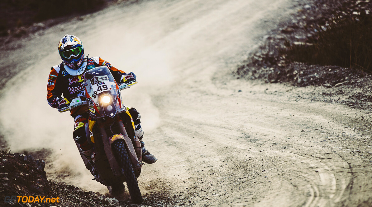 Antoine Meo (FRA) from Red Bull KTM Factory Team performs during stage 5 of Rally Dakar 2016 from Jujuy, Argentina to Uyuni, Bolivia on January 7, 2016. // Flavien Duhamel/Red Bull Content Pool // P-20160107-00820 // Usage for editorial use only // Please go to www.redbullcontentpool.com for further information. //  Antoine Meo Flavien Duhamel