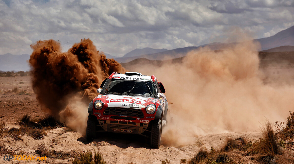 325 MALYSZ Adam (pol) PANSERI Xavier (fra) MINI action during the Dakar 2016 Argentina,  Bolivia, Etape 6 - Stage 6, Uyuni - Uyuni,  from  January 8, 2016 - Photo Florent Gooden / DPPI AUTO - DAKAR 2016 - PART 1 Florent Gooden uyuni Argentine  Amerique Du Sud Argentine Auto Bikes Bolivie Camion Course Dakar January Janvier Moto Quad Rally Rallye Rallye Raid Rallyes Raid Rallyraid Trucks