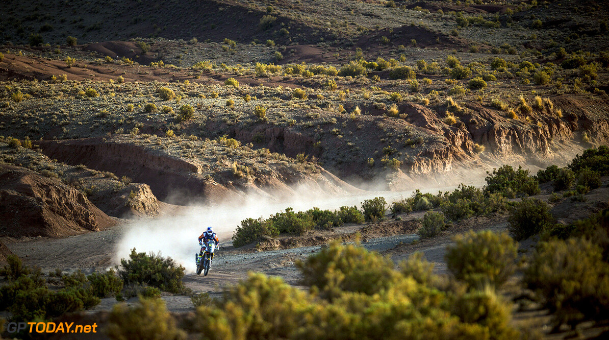 Toby Price (AUS) of Red Bull KTM Factory Team races during stage 07 of Rally Dakar 2016 from Uyuni, Bolivia to Salta, Argentina on January 9, 2016 // Marcelo Maragni/Red Bull Content Pool // P-20160109-00088 // Usage for editorial use only // Please go to www.redbullcontentpool.com for further information. //  Toby Price   Argentina  P-20160109-00088