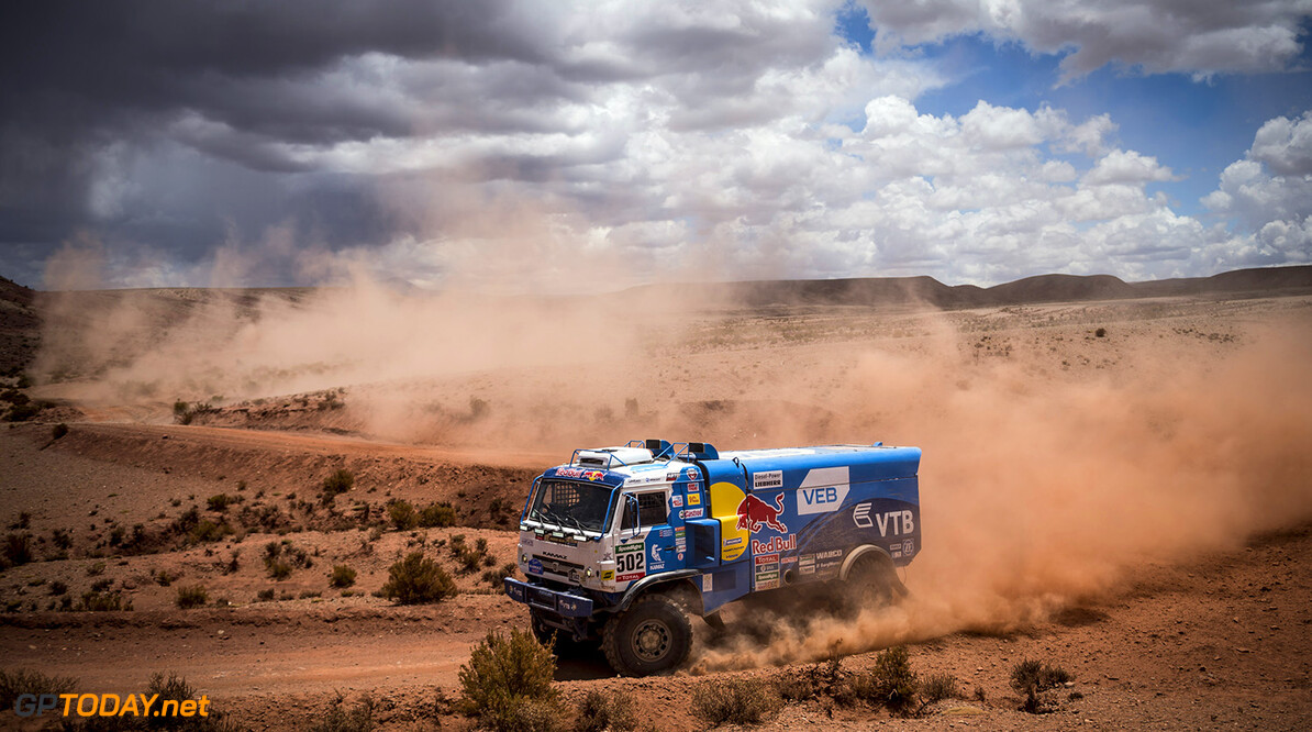 Eduard Nikolaev (RUS) of Team KAMAZ Master races during stage 07 of Rally Dakar 2016 from Uyuni, Bolivia to Salta, Argentina on January 9, 2016 // Marcelo Maragni/Red Bull Content Pool // P-20160109-00103 // Usage for editorial use only // Please go to www.redbullcontentpool.com for further information. //  Eduard Nikolaev   Argentina  P-20160109-00103