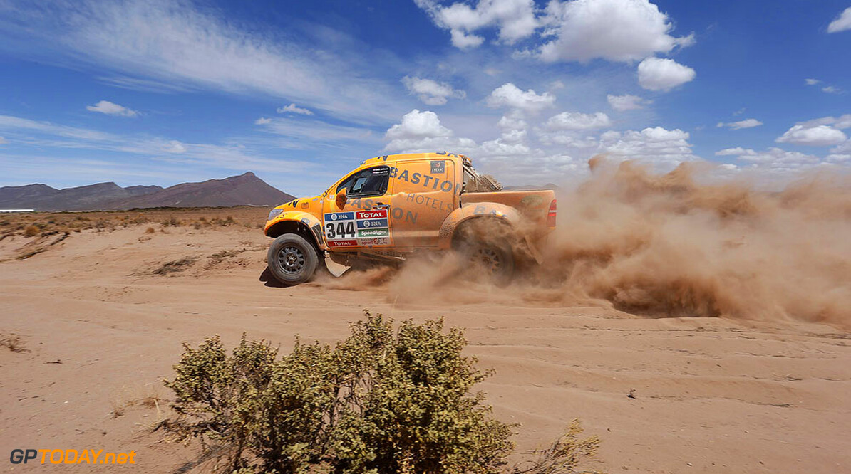 during the Dakar 2016 Argentina,  Bolivia, Etape 6 - Stage 6, Uyuni - Uyuni,  from  January 8, 2016 - Photo Florent Gooden / DPPI AUTO - DAKAR 2016 - PART 1 Florent Gooden uyuni Argentine  Amerique Du Sud Argentine Auto Bikes Bolivie Camion Course Dakar January Janvier Moto Quad Rally Rallye Rallye Raid Rallyes Raid Rallyraid Trucks