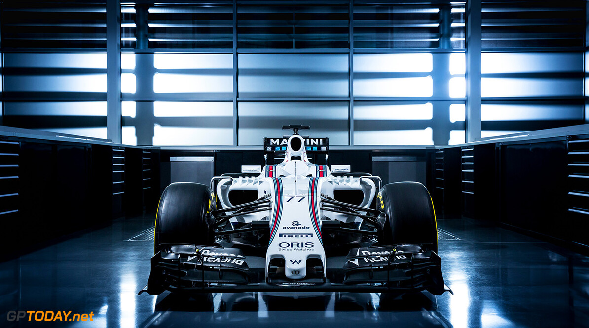 January 2015  The Williams FW38  Photo: Williams F1  ref: Digital Image WS8A8558      reveal launch