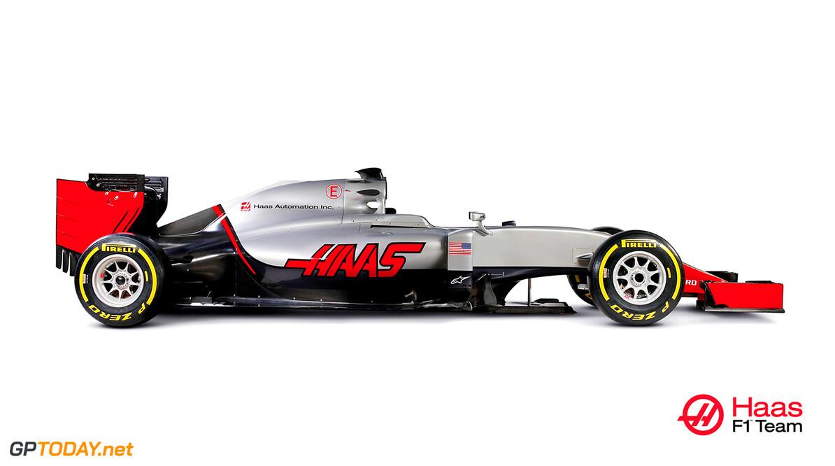 Haas F1 Team presenteert allereerste F1-bolide