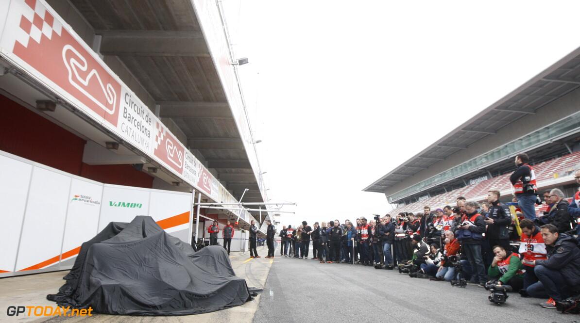 Force India confirm pre-season line up