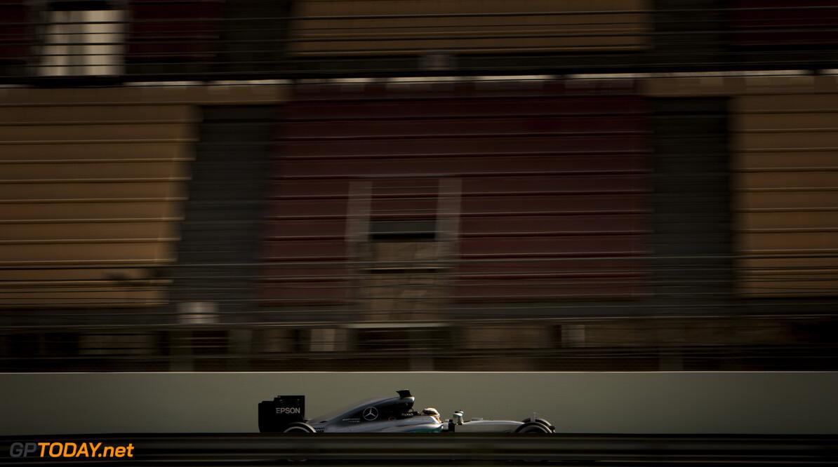 160222RF10575 BARCELONA, SPAIN - 22 FEBRUARY 2016: #44 Lewis Hamilton (GBR), Mercedes AMG Petronas F1 Team, during day 1 of Formula 1's Pre-Season Test at Circuit de Barcelona-Catalunya. Formula 1's Pre-Season Test Ronald Fleurbaaij Barcelona Spain  Sport Sports Autosport Motorsports Auto Car Racewagen Race Car Formule 1 Formula 1 F1 FIA Formula One World Championship Spain Spanje Circuit de Barcelona-Catalunya Pre-Season Test
