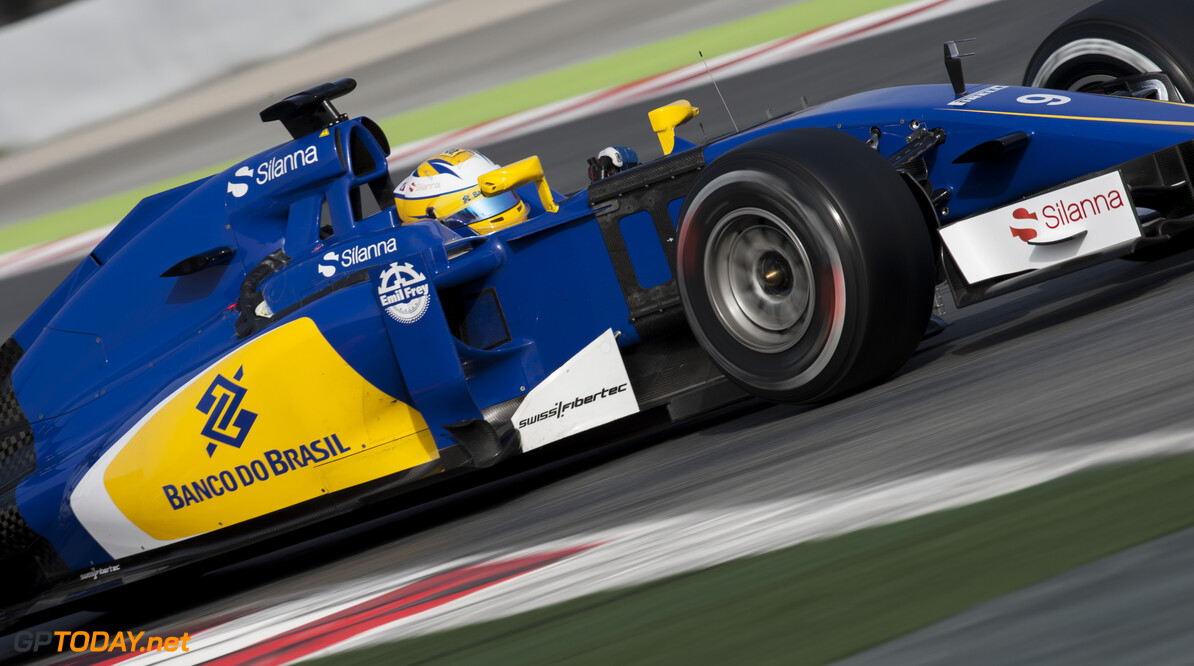 160223RF21896 BARCELONA, SPAIN - 23 FEBRUARY 2016: #9 Marcus Ericsson (SWE), Sauber F1 Team, during day 1 of Formula 1's Pre-Season Test at Circuit de Barcelona-Catalunya. Formula 1's Pre-Season Test Ronald Fleurbaaij Barcelona Spain  Sport Sports Autosport Motorsports Auto Car Racewagen Race Car Formule 1 Formula 1 F1 FIA Formula One World Championship Spain Spanje Circuit de Barcelona-Catalunya Pre-Season Test
