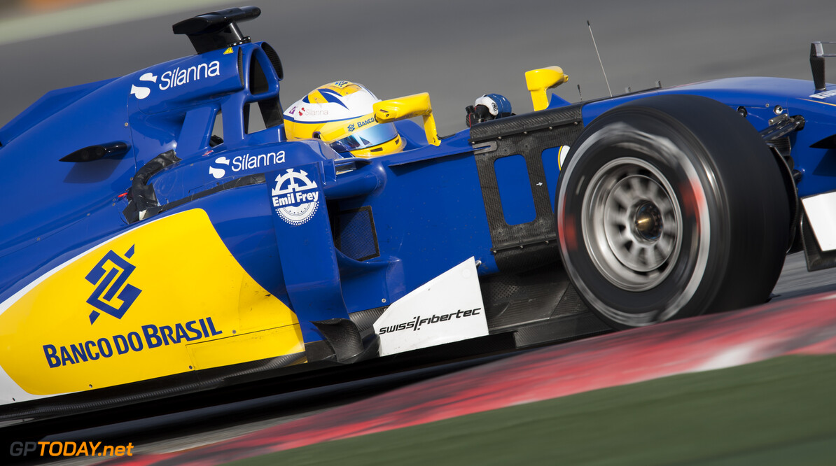 160223RF21849 BARCELONA, SPAIN - 23 FEBRUARY 2016: #9 Marcus Ericsson (SWE), Sauber F1 Team, during day 1 of Formula 1's Pre-Season Test at Circuit de Barcelona-Catalunya. Formula 1's Pre-Season Test Ronald Fleurbaaij Barcelona Spain  Sport Sports Autosport Motorsports Auto Car Racewagen Race Car Formule 1 Formula 1 F1 FIA Formula One World Championship Spain Spanje Circuit de Barcelona-Catalunya Pre-Season Test