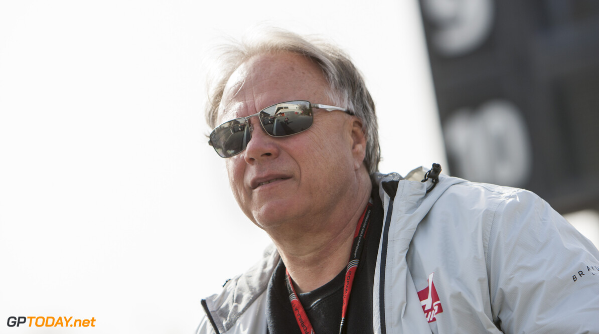 160223RF21928 BARCELONA, SPAIN - 23 FEBRUARY 2016: Haas F1 Team Team Owner Gene Haas during day 1 of Formula 1's Pre-Season Test at Circuit de Barcelona-Catalunya. Formula 1's Pre-Season Test Ronald Fleurbaaij Barcelona Spain  Sport Sports Autosport Motorsports Auto Car Racewagen Race Car Formule 1 Formula 1 F1 FIA Formula One World Championship Spain Spanje Circuit de Barcelona-Catalunya Pre-Season Test