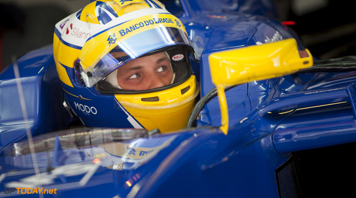 160223RF22009 BARCELONA, SPAIN - 23 FEBRUARY 2016: #9 Marcus Ericsson (SWE), Sauber F1 Team, during day 1 of Formula 1's Pre-Season Test at Circuit de Barcelona-Catalunya. Formula 1's Pre-Season Test Ronald Fleurbaaij Barcelona Spain  Sport Sports Autosport Motorsports Auto Car Racewagen Race Car Formule 1 Formula 1 F1 FIA Formula One World Championship Spain Spanje Circuit de Barcelona-Catalunya Pre-Season Test