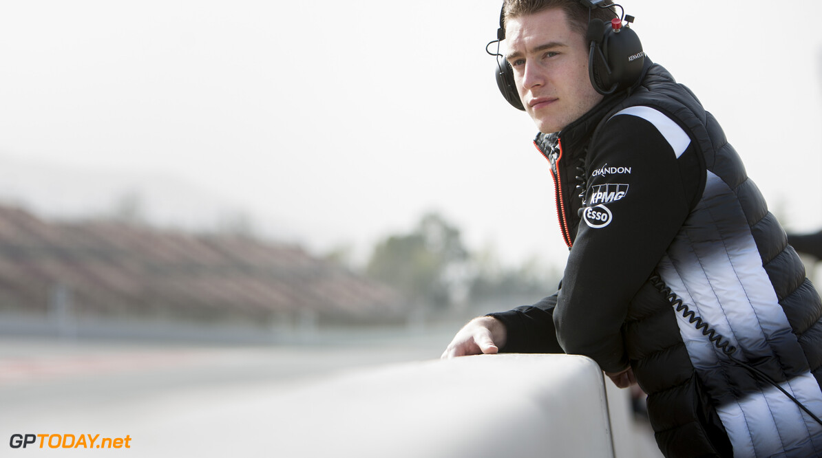 160223RF21950 BARCELONA, SPAIN - 23 FEBRUARY 2016: McLaren Honda test and reserve driver #47 Stoffel Vandoorne (BEL) during day 1 of Formula 1's Pre-Season Test at Circuit de Barcelona-Catalunya. Formula 1's Pre-Season Test Ronald Fleurbaaij Barcelona Spain  Sport Sports Autosport Motorsports Auto Car Racewagen Race Car Formule 1 Formula 1 F1 FIA Formula One World Championship Spain Spanje Circuit de Barcelona-Catalunya Pre-Season Test