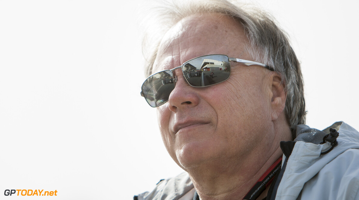 160223RF21927 BARCELONA, SPAIN - 23 FEBRUARY 2016: Haas F1 Team Team Owner Gene Haas during day 1 of Formula 1's Pre-Season Test at Circuit de Barcelona-Catalunya. Formula 1's Pre-Season Test Ronald Fleurbaaij Barcelona Spain  Sport Sports Autosport Motorsports Auto Car Racewagen Race Car Formule 1 Formula 1 F1 FIA Formula One World Championship Spain Spanje Circuit de Barcelona-Catalunya Pre-Season Test