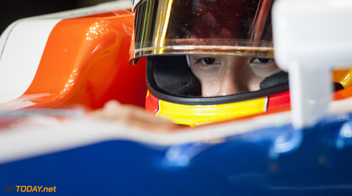 160224RF22821 BARCELONA, SPAIN - 24 FEBRUARY 2016: #88 Rio Haryanto (IDN), Manor Racing, during day 1 of Formula 1's Pre-Season Test at Circuit de Barcelona-Catalunya. Formula 1's Pre-Season Test Ronald Fleurbaaij Barcelona Spain  Sport Sports Autosport Motorsports Auto Car Racewagen Race Car Formule 1 Formula 1 F1 FIA Formula One World Championship Spain Spanje Circuit de Barcelona-Catalunya Pre-Season Test