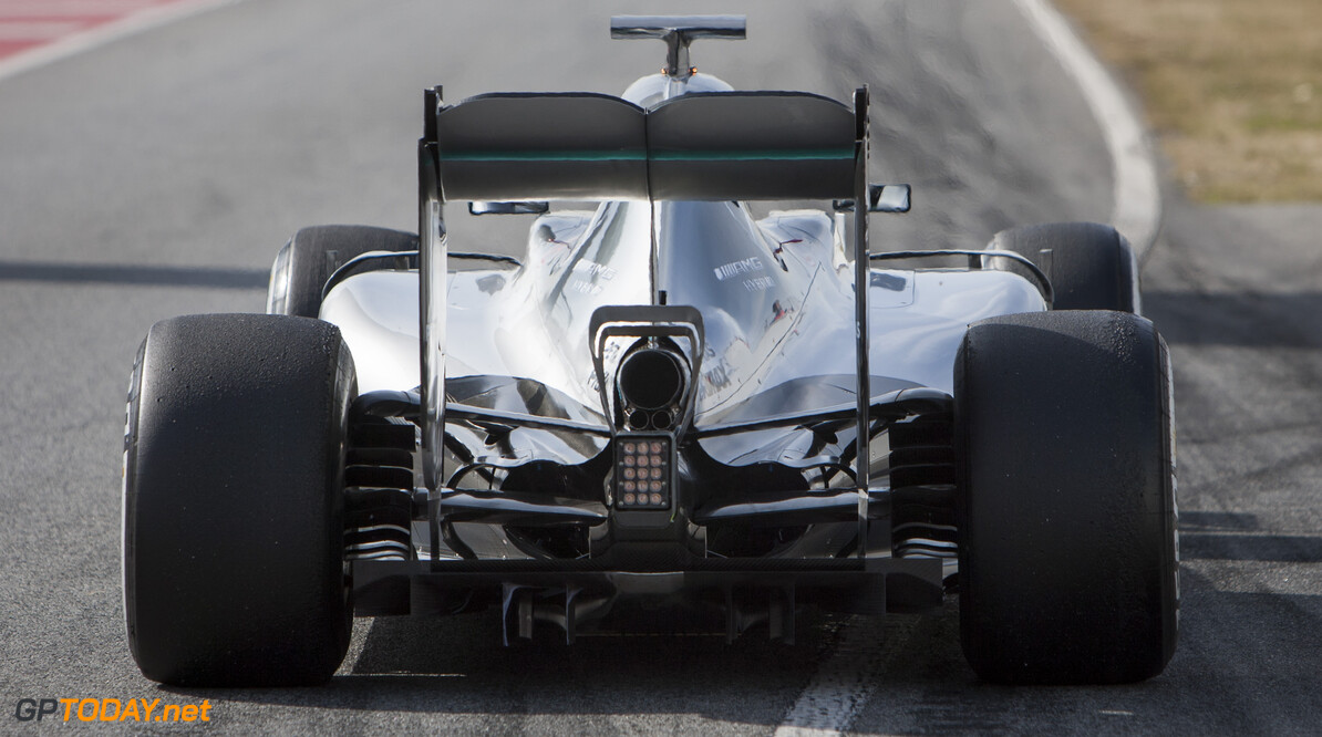 160224RF12712 BARCELONA, SPAIN - 24 FEBRUARY 2016: #6 Nico Rosberg (DEU), Mercedes AMG Petronas F1 Team, during day 1 of Formula 1's Pre-Season Test at Circuit de Barcelona-Catalunya. Formula 1's Pre-Season Test Ronald Fleurbaaij Barcelona Spain  Sport Sports Autosport Motorsports Auto Car Racewagen Race Car Formule 1 Formula 1 F1 FIA Formula One World Championship Spain Spanje Circuit de Barcelona-Catalunya Pre-Season Test