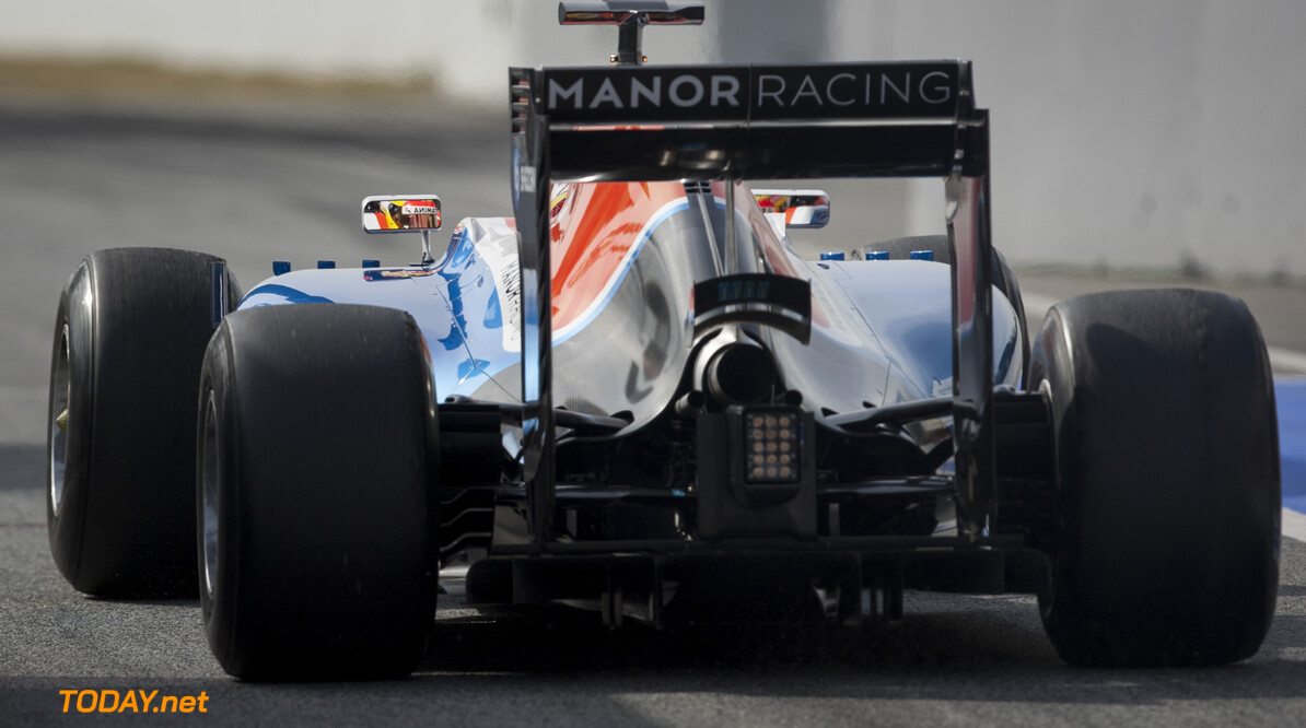 160224RF23134 BARCELONA, SPAIN - 24 FEBRUARY 2016: #88 Rio Haryanto (IDN), Manor Racing, during day 1 of Formula 1's Pre-Season Test at Circuit de Barcelona-Catalunya. Formula 1's Pre-Season Test Ronald Fleurbaaij Barcelona Spain  Sport Sports Autosport Motorsports Auto Car Racewagen Race Car Formule 1 Formula 1 F1 FIA Formula One World Championship Spain Spanje Circuit de Barcelona-Catalunya Pre-Season Test