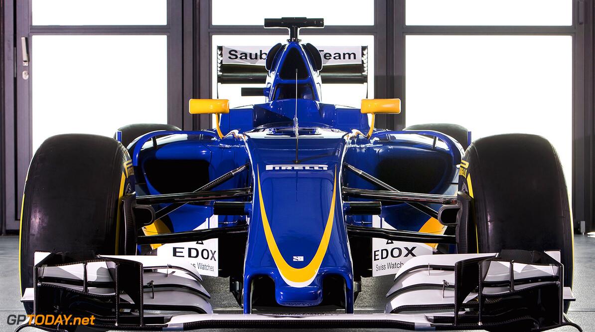 Sauber presenteert de auto voor 2016, de C35