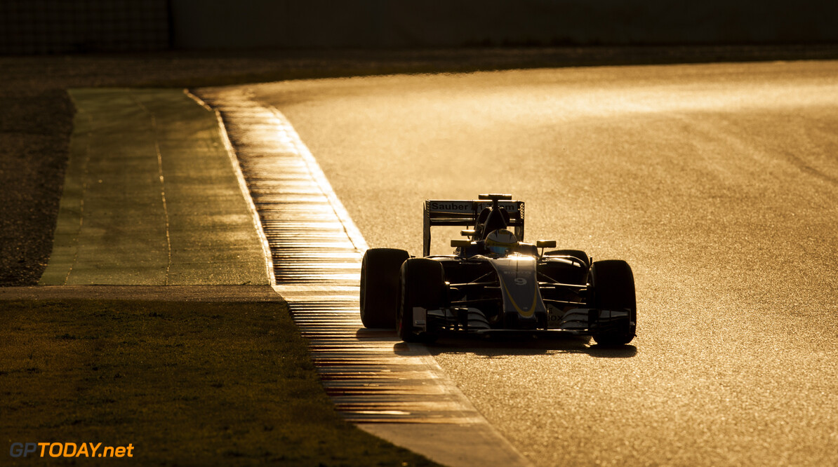 160304RF28751 BARCELONA, SPAIN - 4 MARCH 2016: #9 Marcus Ericsson (SWE), Sauber F1 Team, during day 8 of Formula 1's Pre-Season Test at Circuit de Barcelona-Catalunya. Formula 1's Pre-Season Test Ronald Fleurbaaij Barcelona Spain  Sport Sports Autosport Motorsports Auto Car Racewagen Race Car Formule 1 Formula 1 F1 FIA Formula One World Championship Spain Spanje Circuit de Barcelona-Catalunya Pre-Season Test