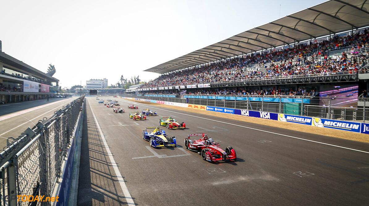 The Race.  Mexico City e-Prix, Mexico, Central America. Saturday 12 March 2016 Photo: Adam Warner /LAT/FE. ref: Digital Image _L5R9340   Adam Warner