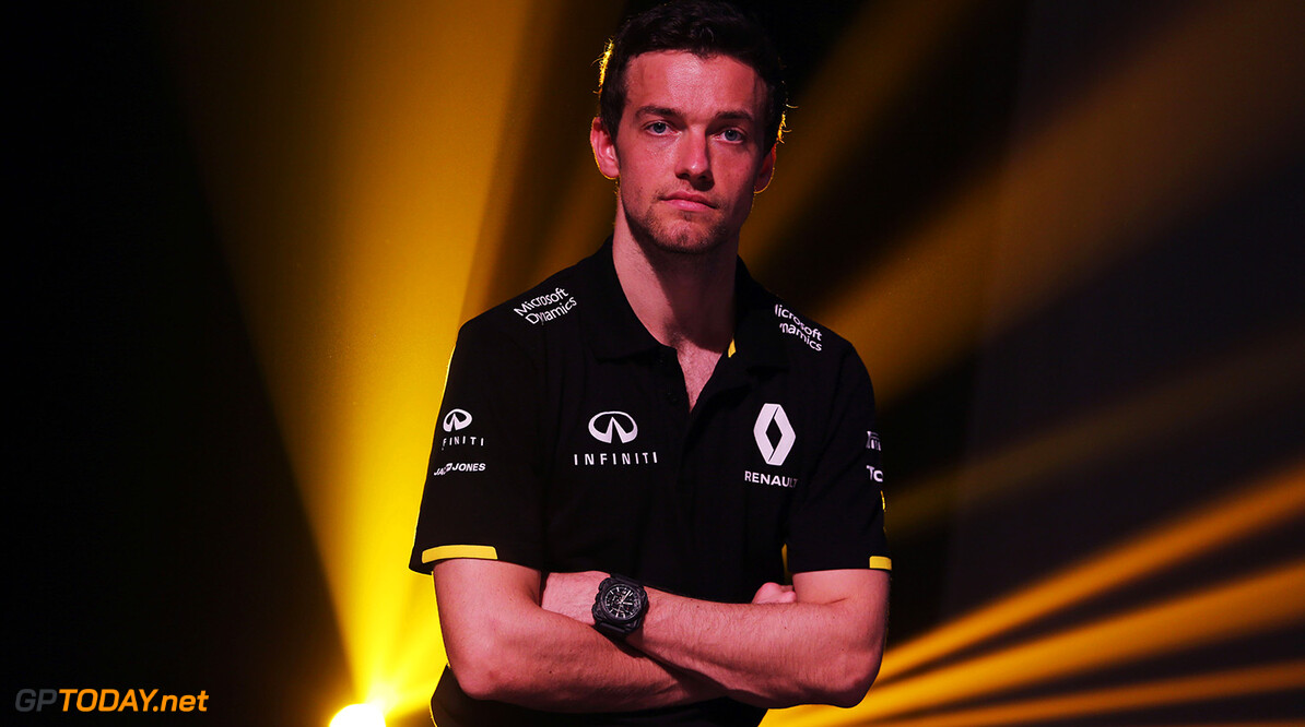 Formula One World Championship Jolyon Palmer (GBR) Renault Sport F1 Team at the Renault Sport F1 Team RS16 livery reveal.