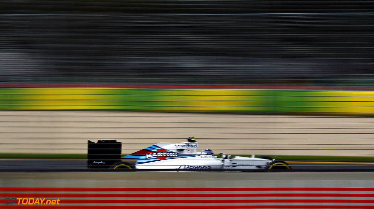 Albert Park, Melbourne, Australia. Friday 18 March 2016. Valtteri Bottas, Williams FW38 Mercedes. Photo: Steven Tee/Williams F1 ref: Digital Image _H7I2520      Action