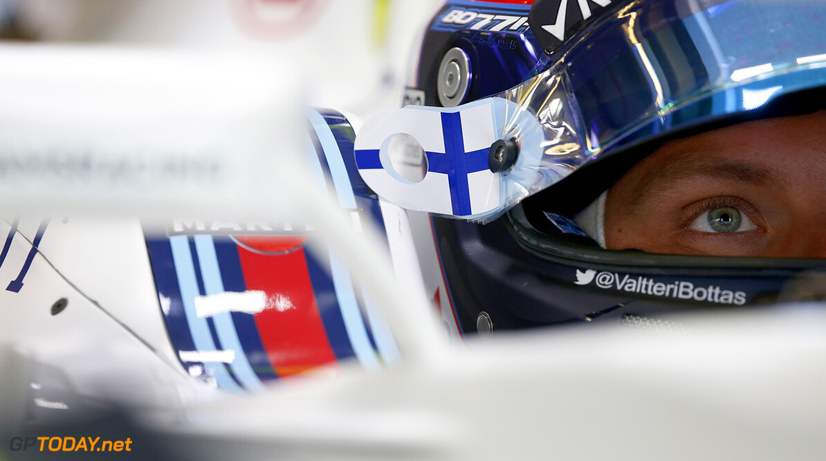 Albert Park, Melbourne, Australia. Friday 18 March 2016. Valtteri Bottas, Williams Martini Racing. Photo: Glenn Dunbar/Williams F1 ref: Digital Image _89P2342      Portrait Helmets