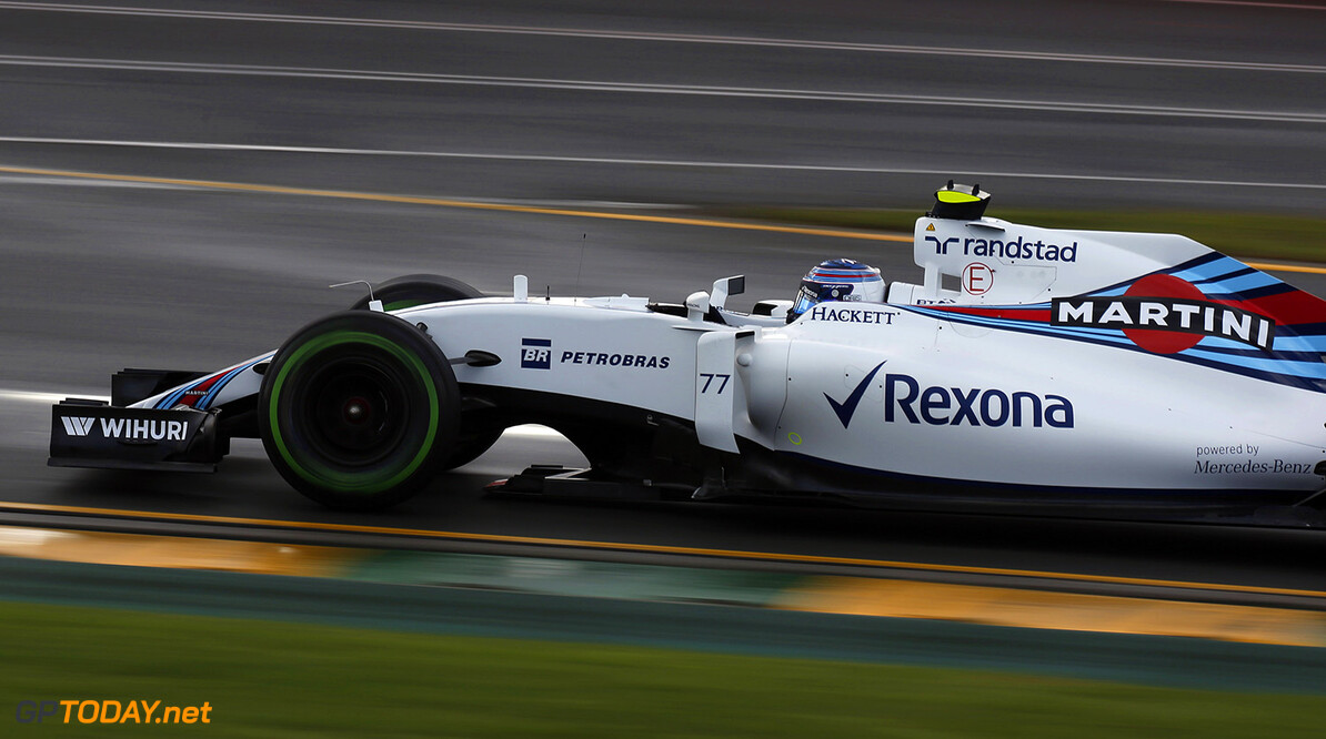 Albert Park, Melbourne, Australia. Friday 18 March 2016. Valtteri Bottas, Williams FW38 Mercedes. Photo: Sam Bloxham/Williams F1 ref: Digital Image _R6T1654  Al Staley    Action
