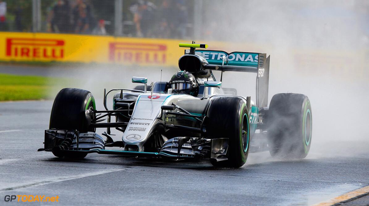 Rosberg zou regenrace in Brazilië niet erg vinden