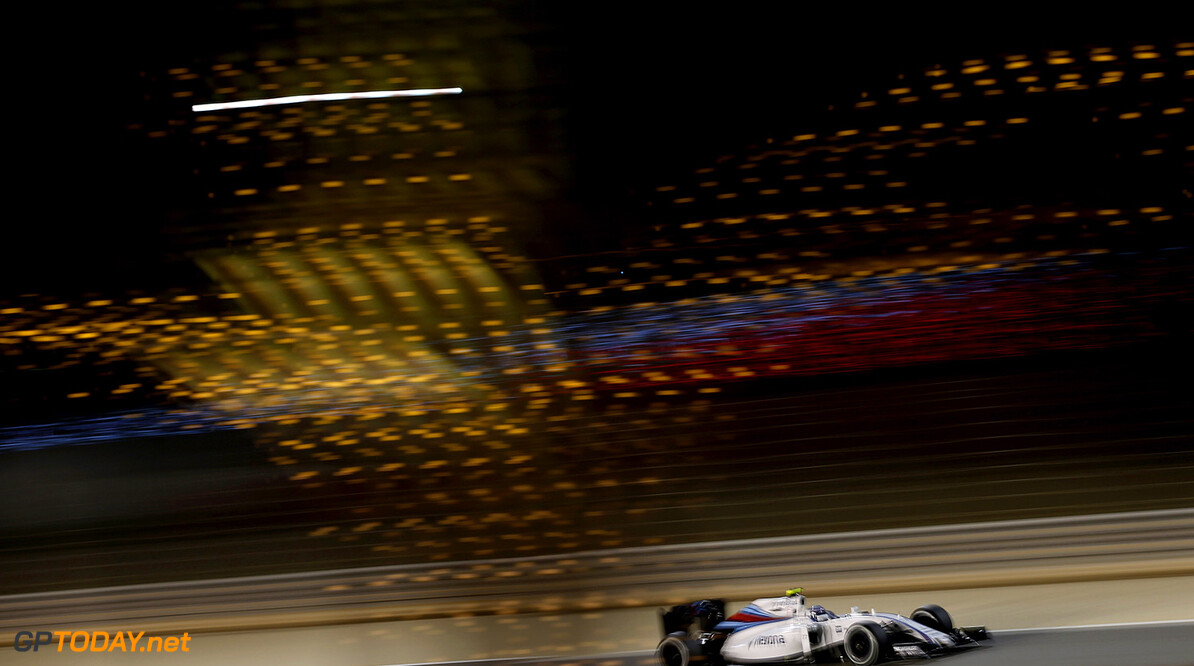 Bahrain International Circuit, Sakhir, Bahrain. Friday 1 April 2016. Valtteri Bottas, Williams FW38 Mercedes. Photo: Glenn Dunbar/Williams F1 ref: Digital Image _W2Q5115      f1 formula 1 formula one bahraini bah gp grand prix Action