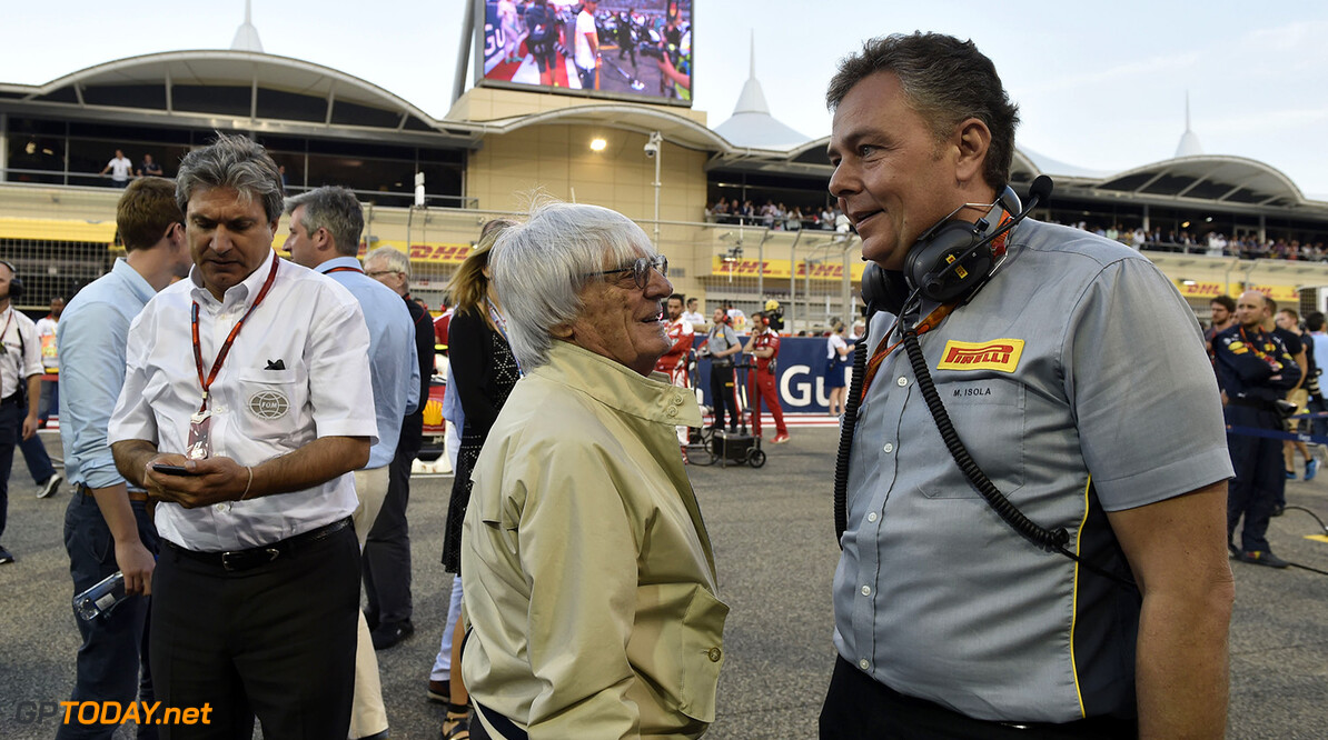 Ecclestone claims Liberty Media don't want him at races