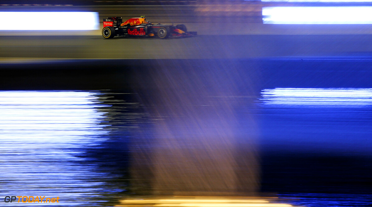 SAKHIR, BAHRAIN - APRIL 03: Daniil Kvyat of Russia drives the (26) Red Bull Racing Red Bull-TAG Heuer RB12 TAG Heuer on track  during the Bahrain Formula One Grand Prix at Bahrain International Circuit on April 3, 2016 in Sakhir, Bahrain.  (Photo by Lars Baron/Getty Images) // Getty Images / Red Bull Content Pool  // P-20160403-00163 // Usage for editorial use only // Please go to www.redbullcontentpool.com for further information. //  F1 Grand Prix of Bahrain Lars Baron As Sakhir Bahrain  P-20160403-00163