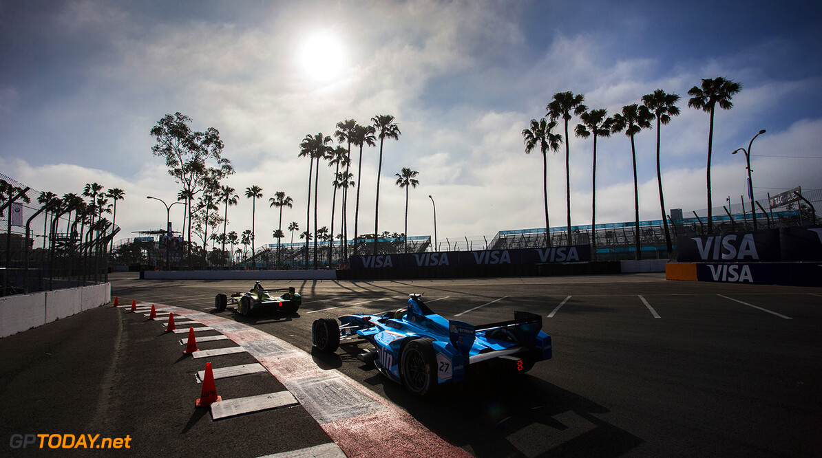 Long Beach ePrix, Los Angeles, California, United States of America. Saturday 2 April 2016 Robin Frijns (NLD), Andretti - Spark SRT_01E  Photo: Andrew Ferraro/LAT. ref: Digital Image _FER1339.jpg