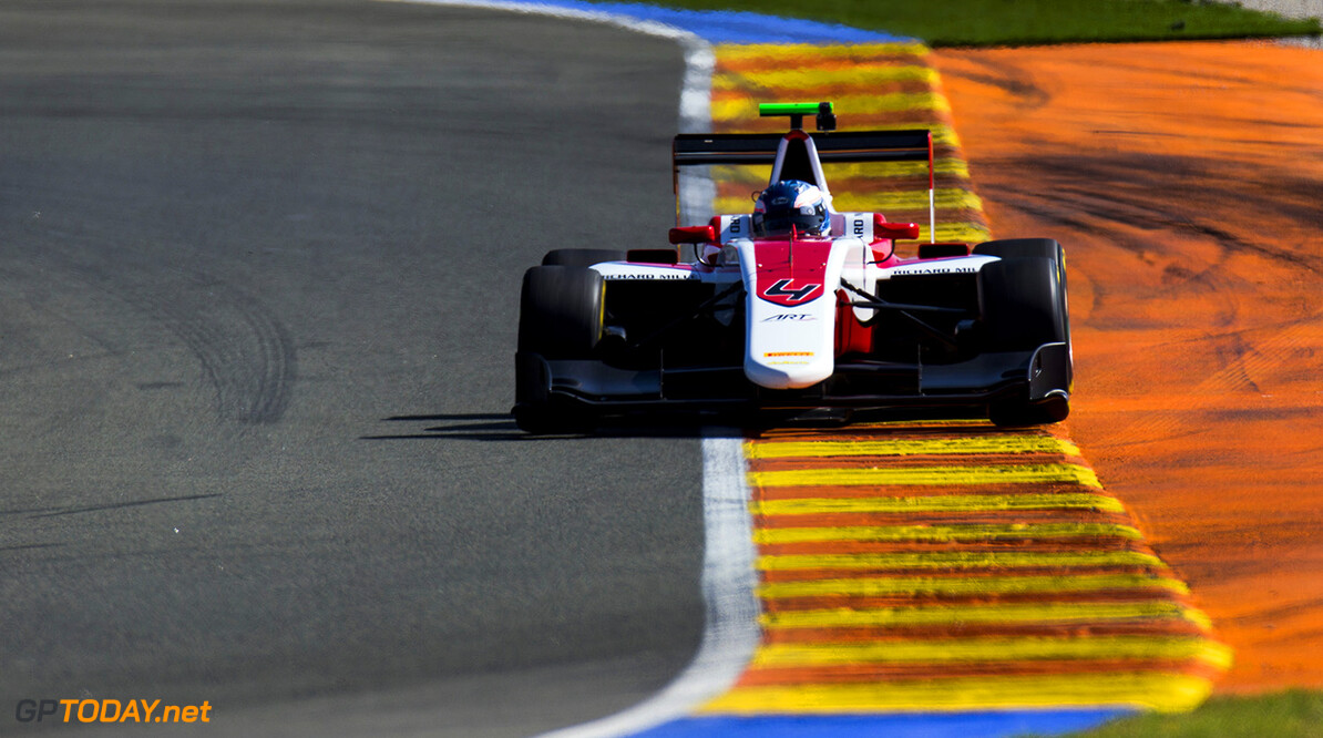 2016 GP3 Series Testing.
