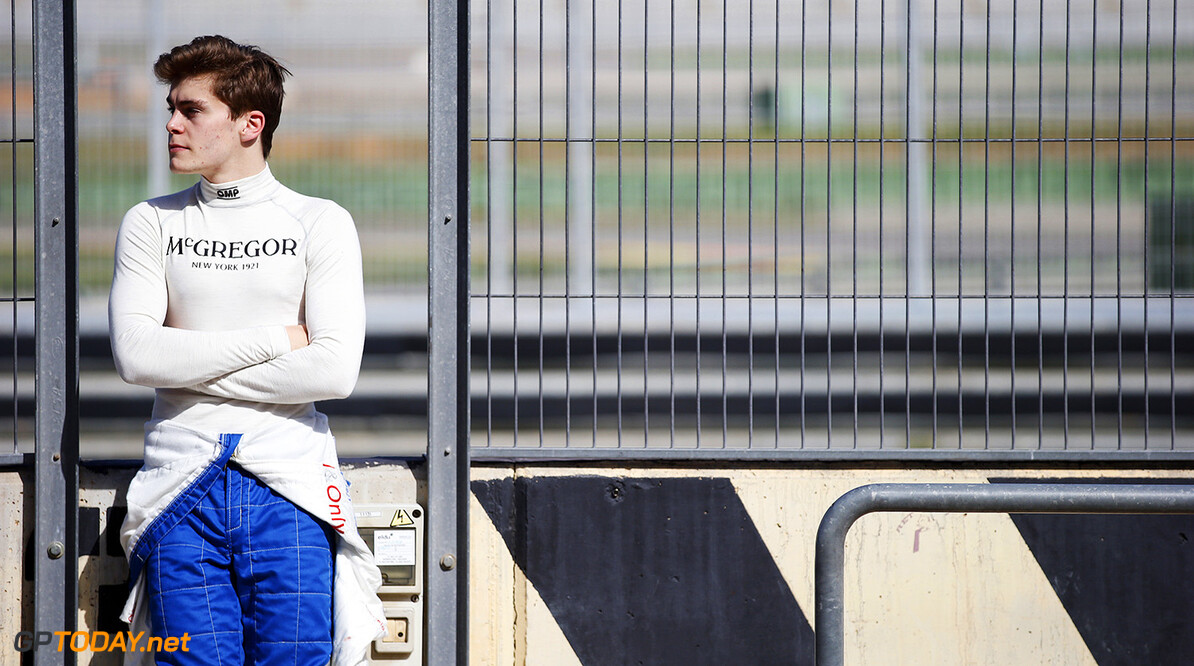 2016 GP3 Series Test 2 - Circuit Ricardo Tormo, Valencia, Spain. Thursday 7 April 2016. Steijn Schothorst (NED, Campos Racing)  Photo: Sam Bloxham/GP3 Series Media Service. ref: Digital Image _L4R0281  Sam Bloxham    portrait