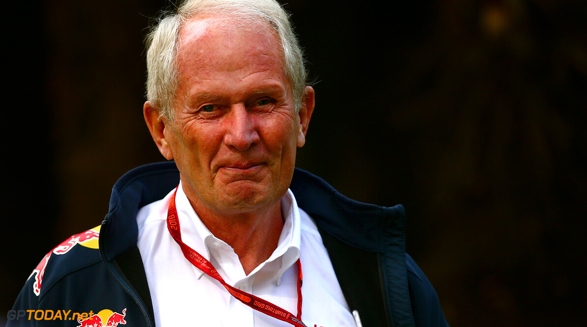 SHANGHAI, CHINA - APRIL 15:  Red Bull Racing Team Consultant Dr Helmut Marko in the Paddock during practice for the Formula One Grand Prix of China at Shanghai International Circuit on April 15, 2016 in Shanghai, China.  (Photo by Dan Istitene/Getty Images) // Getty Images / Red Bull Content Pool  // P-20160415-00185 // Usage for editorial use only // Please go to www.redbullcontentpool.com for further information. //  F1 Grand Prix of China - Practice Dan Istitene Shanghai China  P-20160415-00185