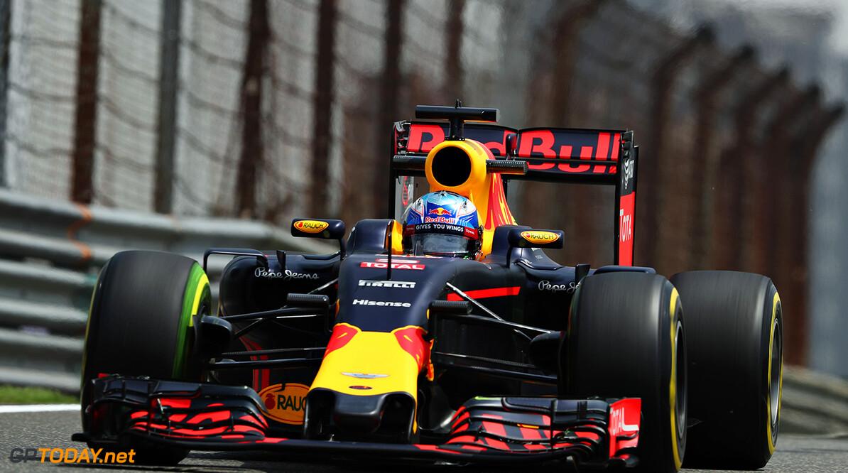 Red Bull-teams rijden met lagere bandenspanning