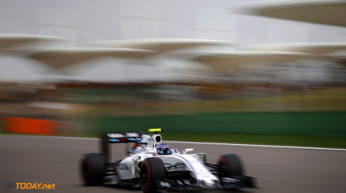 Shanghai International Circuit, Shanghai, China. Friday 15 April 2016. Valtteri Bottas, Williams FW38 Mercedes.  Photo: Glenn Dunbar/Williams ref: Digital Image _W2Q8379