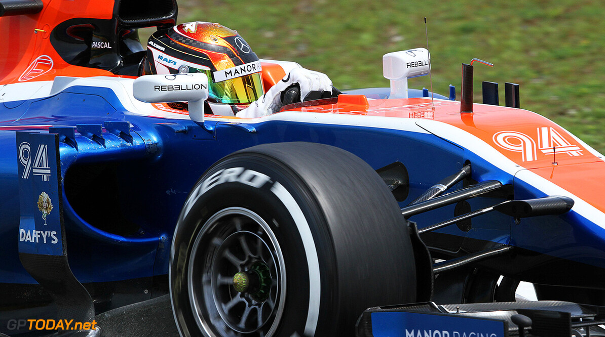Formula One World Championship Pascal Wehrlein (GER) Manor Racing MRT05. 15.04.2016. Formula 1 World Championship, Rd 3, Chinese Grand Prix, Shanghai, China, Practice Day. Motor Racing - Formula One World Championship - Chinese Grand Prix - Practice Day - Shanghai, China Manor Racing Shanghai China  Formel1 Formel F1 Formula 1 Formula1 GP Grand Prix one Shanghai International Circuit China Chinese Shanghai April Friday 15 04 4 2016 Action Track