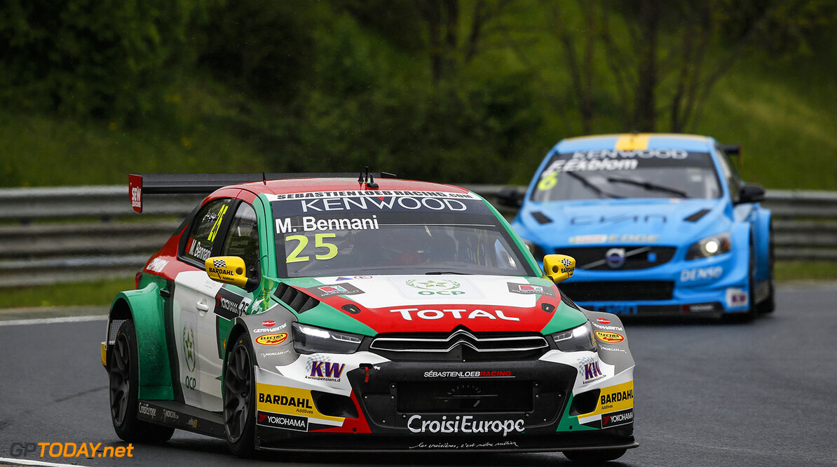 25 BENNANI Mehdi (mar) Citroen C Elysee team Sebastien Loeb racing action during the 2016 FIA WTCC World Touring Car Race of Hungary at hungaroring, Budapest from April 22 to 24, 2016 - Photo Florent Gooden / DPPI AUTO - WTCC HUNGARY 2016 Florent Gooden Budapest Hongrie  AUTO AVRIL CHAMPIONNAT DU MONDE CIRCUIT COURSE FIA HONGRIE Motorsport TOURISME WTCC europe