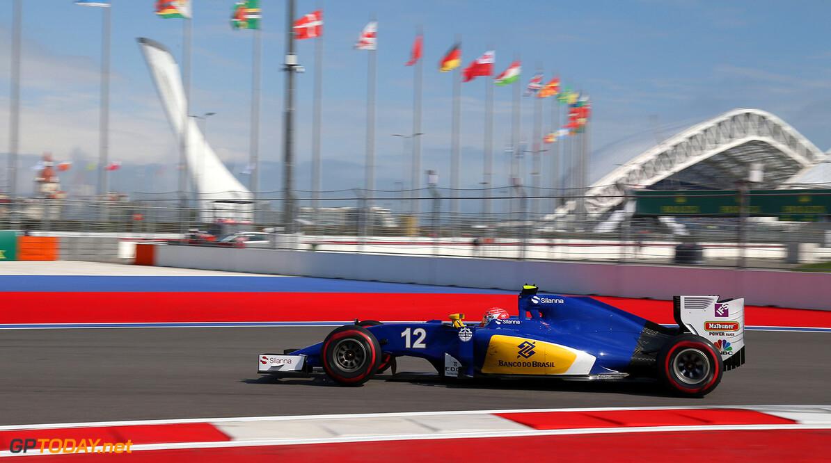 Russian GP Friday 29/04/16 Felipe Nasr (BRA) Sauber F1 Team.  Sochi Autodrom.  Russian GP Friday 29/04/16 Jad Sherif                       Sochi Russia  F1 Formula 1 One 2016 Sotchi Sochi Action Nasr Sauber
