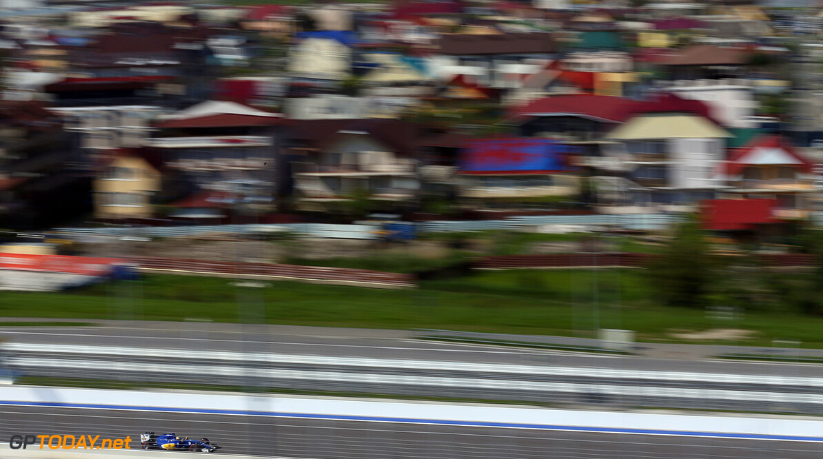 Russian GP Race 01/05/16 Marcus Ericsson (SWE) Sauber F1 Team.  Sochi Autodrom.  Russian GP Race 01/05/16 Jad Sherif                       Sochi Russia  F1 Formula 1 One 2016 Sotchi Action Ericsson Sauber