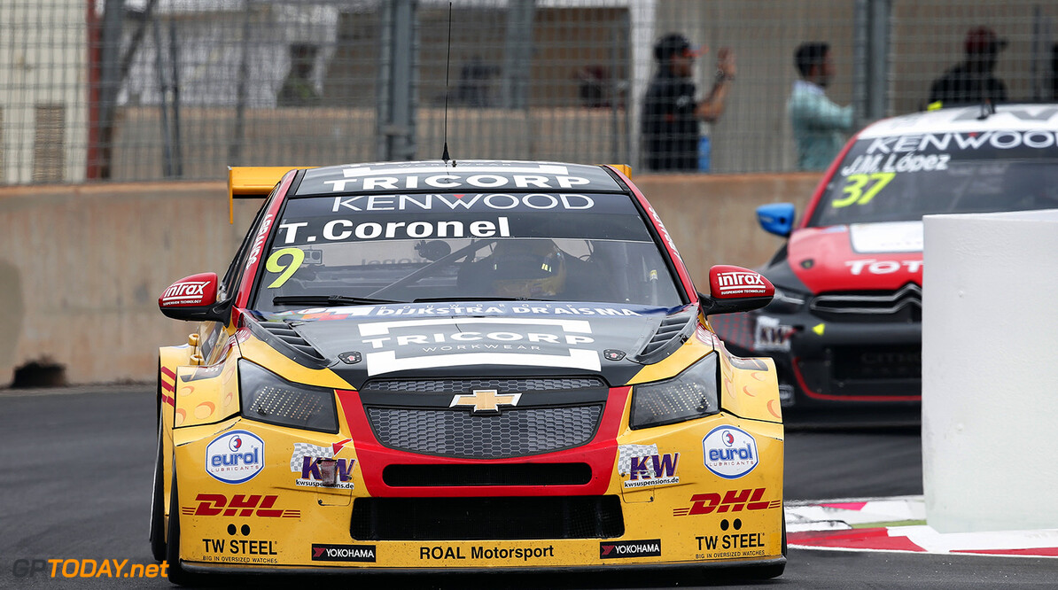 09 CORONEL Tom (ned) Chevrolet Cruze RML team Roal Motorsport action during the 2016 FIA WTCC World Touring Car Race of Morocco at Marrakech, from May 6 to 8  2016 - Photo Jean Michel Le Meur / DPPI. AUTO - WTCC MARRAKECH 2016 Jean Michel Le Meur Marrakech Maroc  april auto avril championnat du monde circuit course fia maroc motorsport tourisme wtcc