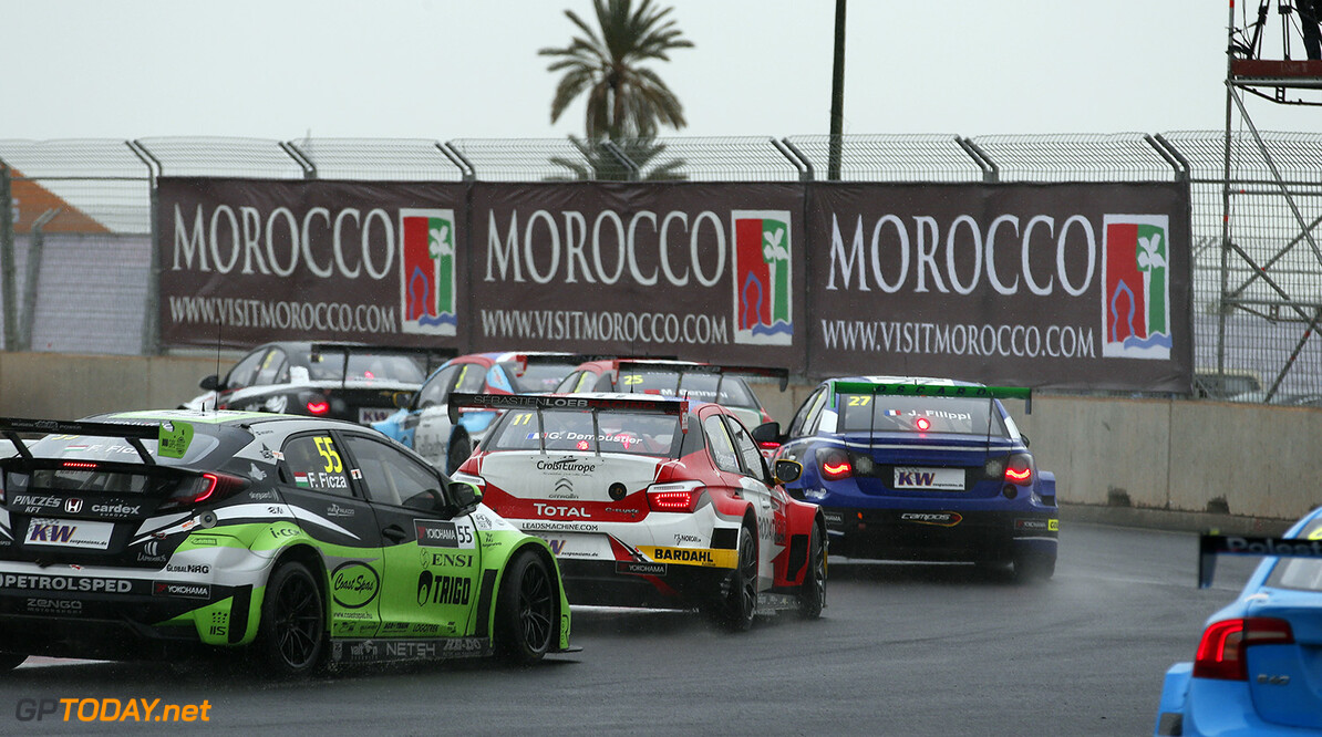 55 FICZA Ferenc (hun) Honda Civic team Zengo action during the 2016 FIA WTCC World Touring Car Race of Morocco at Marrakech, from May 6 to 8  2016 - Photo Jean Michel Le Meur / DPPI. AUTO - WTCC MARRAKECH 2016 Jean Michel Le Meur Marrakech Maroc  april auto avril championnat du monde circuit course fia maroc motorsport tourisme wtcc