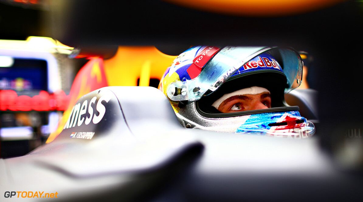MONTMELO, SPAIN - MAY 12: Max Verstappen of Netherlands and Red Bull Racing sits in his car in the garage during previews to the Spanish Formula One Grand Prix at Circuit de Catalunya on May 12, 2016 in Montmelo, Spain.  (Photo by Dan Istitene/Getty Images) // Getty Images / Red Bull Content Pool  // P-20160512-00272 // Usage for editorial use only // Please go to www.redbullcontentpool.com for further information. //  Spanish F1 Grand Prix - Previews Dan Istitene  Spain  P-20160512-00272