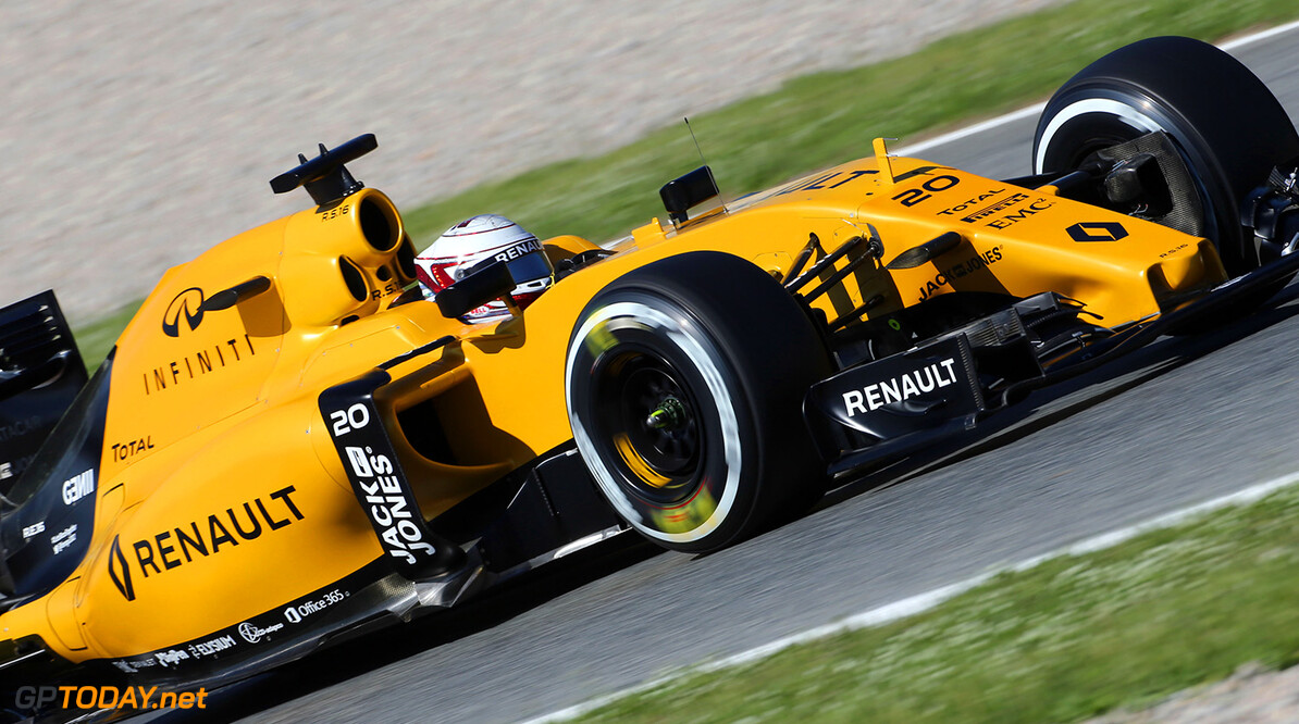 Formula One World Championship Kevin Magnussen (DEN) Renault Sport F1 Team RS16. Spanish Grand Prix, Friday 13th May 2016. Barcelona, Spain. Motor Racing - Formula One World Championship - Spanish Grand Prix - Practice Day - Barcelona, Spain Renault Sport Formula One Team Barcelona Spain  Formula One Formula 1 F1 GP Grand Prix Spanish Spain Barcelona Catalunya Circuit de Catalunya Montmelo JM563 Action Track GP1605c