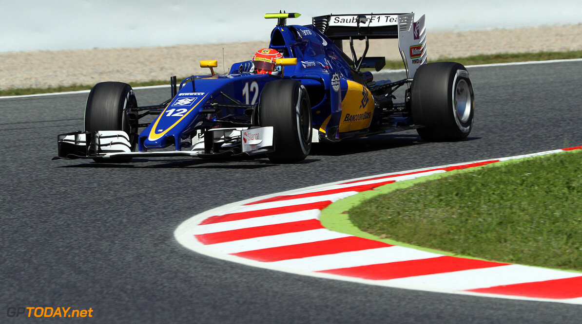 Spanish GP Friday 13/05/16 Felipe Nasr (BRA) Sauber F1 Team.  Circuit de Barcelona-Catalunya.  Spanish GP Friday 13/05/16 Jad Sherif                       Montmelo Spain  F1 Formula 1 One 2016 action Nasr Sauber