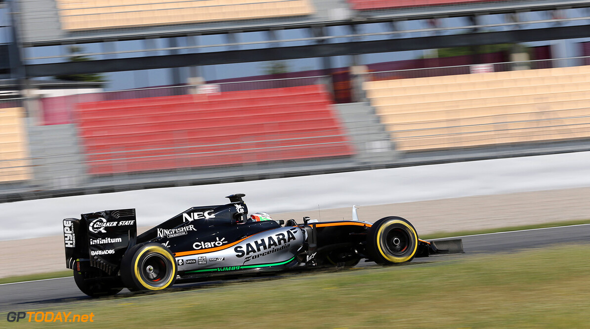 Formula One Testing Alfonso Celis Jr (MEX) Sahara Force India F1 VJM09 Development Driver. Formula One In-Season Testing, Day 2, Wednesday 18th May 2016. Barcelona, Spain. Motor Racing - Formula One Testing - In-Season Test - Day 2 -  Barcelona, Spain James Moy Photography Barcelona Spain  Formula One Formula 1 F1 Circuit Testing Test Spain Barcelona Catalunya In-Season In Season JM567 Action Track SFI1603