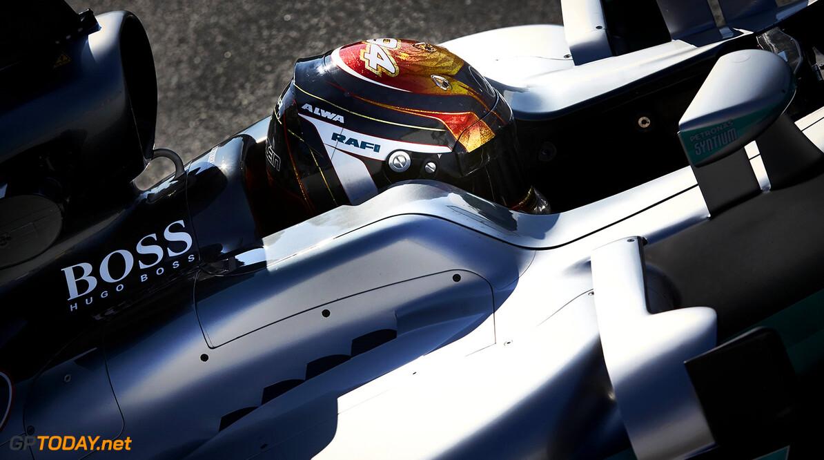 Pascal Wehrlein backed by Nico Rosberg